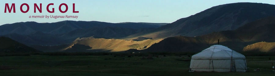 Mongol - a memoir by Uuganna Ramsay